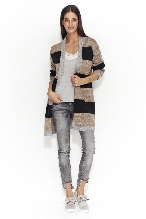 Sweter kardigan cappucino...