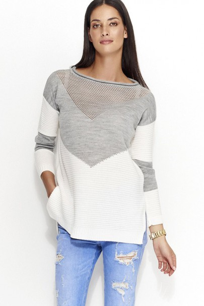 Sweter szary NU_S29
