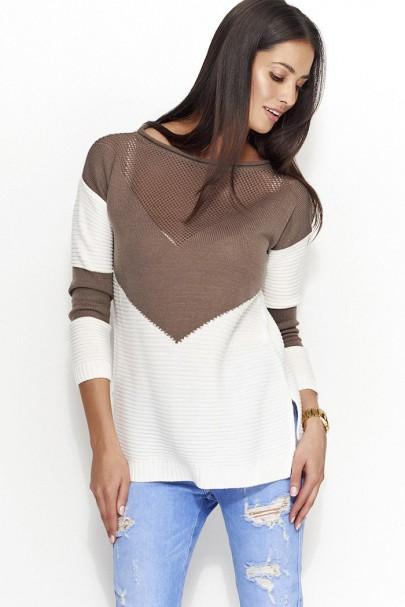 Sweter cappucino NU_S29