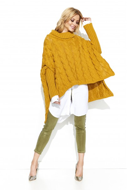 Sweter musztradowy oversize...