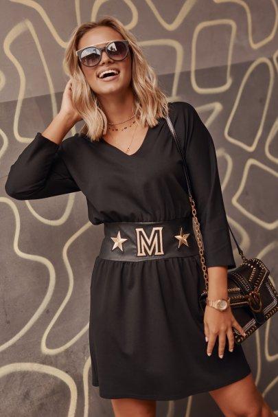 Elegancka sukienka mini z...