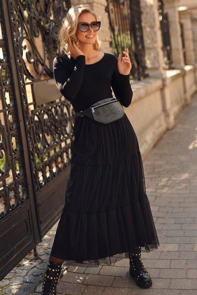 Sukienka maxi wiskoza i...