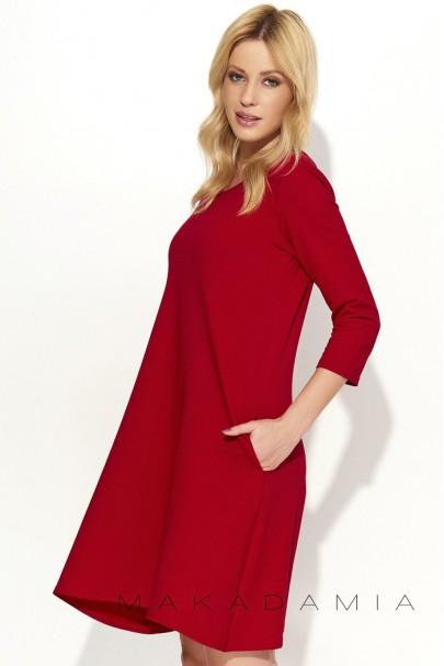 Sukienka Czerwona M375