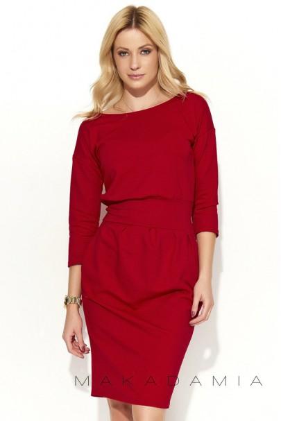 Sukienka Czerwony M376