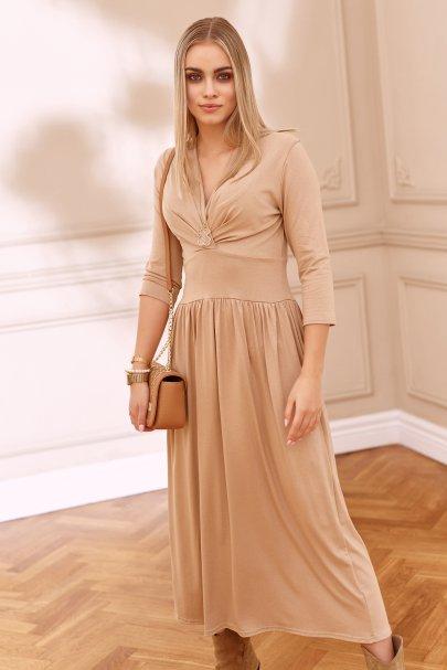 Wiskozowa sukienka...