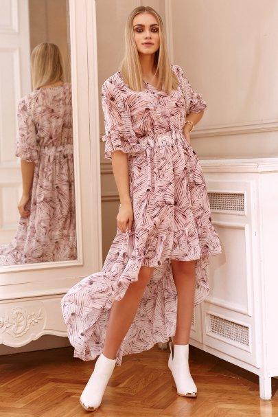 Zwiewna sukienka...