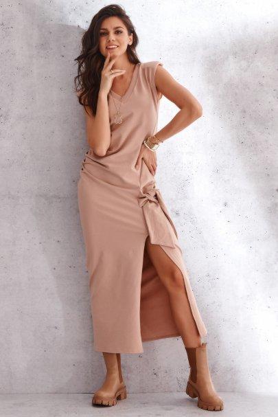 Dresowa sukienka z...