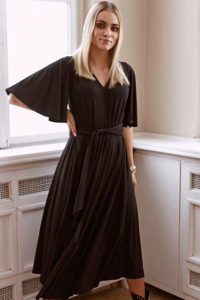 Drapowana sukienka z...