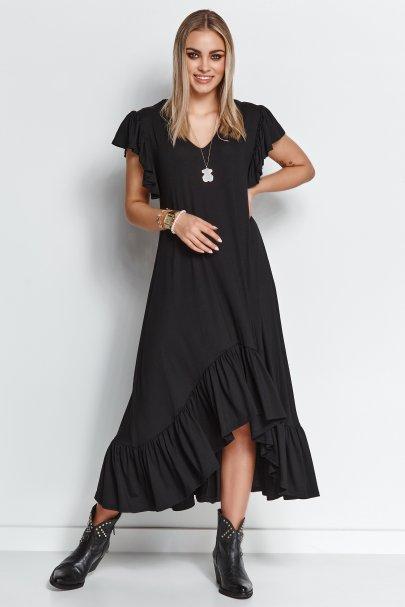 Luźna sukienka hiszpanka...