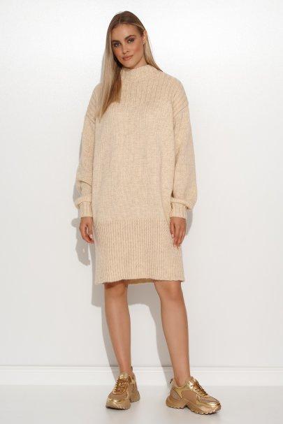 Sweter damski przed kolano...