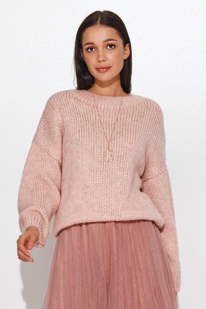 Klasyczny sweter damski...