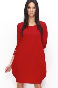 Sukienka czerwona bombka NU80