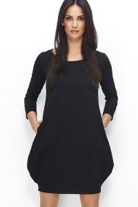 Sukienka czarna bomka NU80