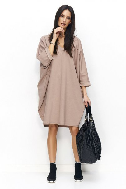 Sukienka oversize z...