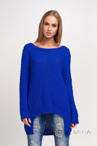 Sweter chabrowy luźny S22