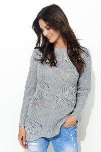 Sweter szary NU_S40