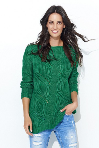 Sweter zielony NU_S40