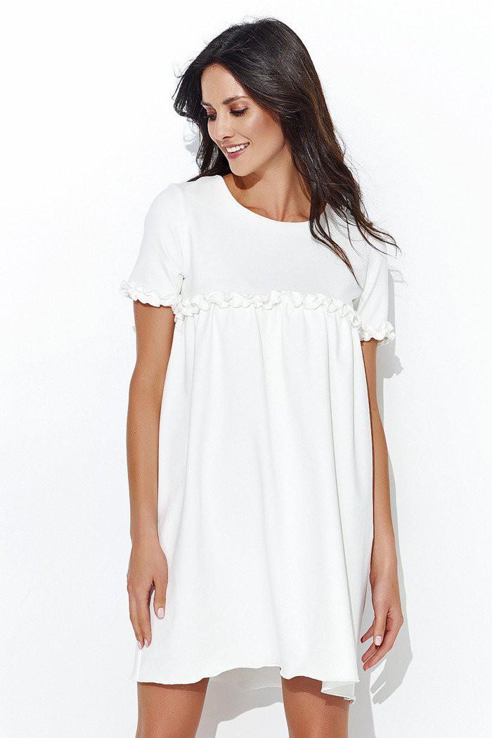 Sukienka ecru NU93