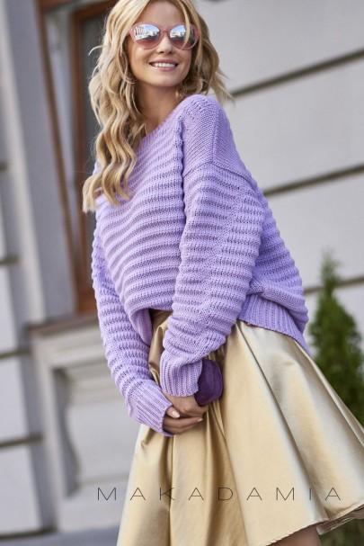 Sweter liliowy S64