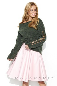 Sweter khaki S65