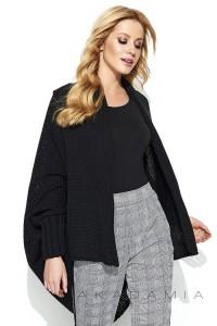 Sweter kardigan czarny S72