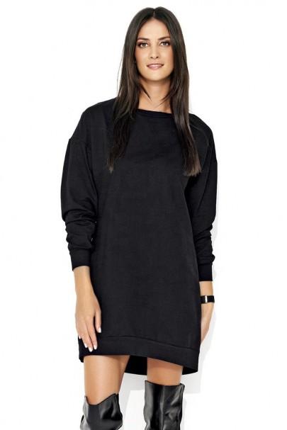 Sukienka czarna sportowa NU116