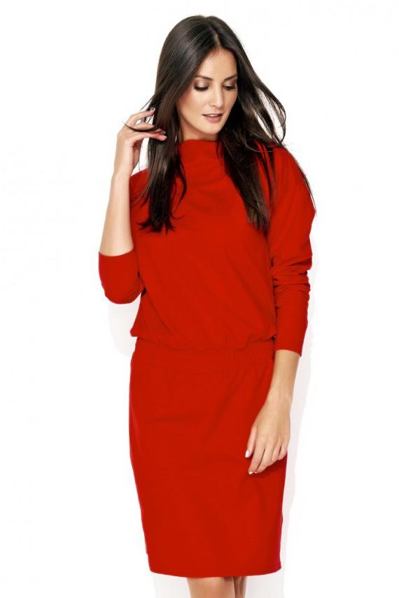 Sukienka czerwona ze...