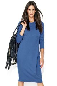 Sukienka jeansowa z zakładką NU136