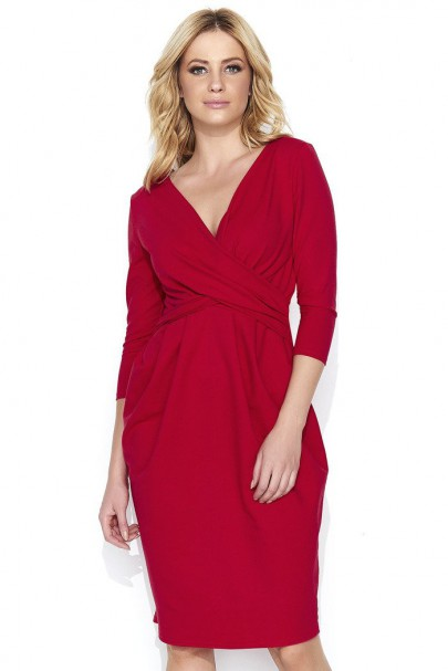 Sukienka czerwona z...
