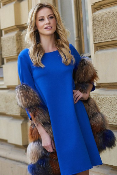 Sukienka Chabrowa M452