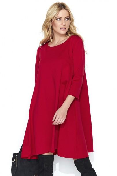 Sukienka czerwona M452