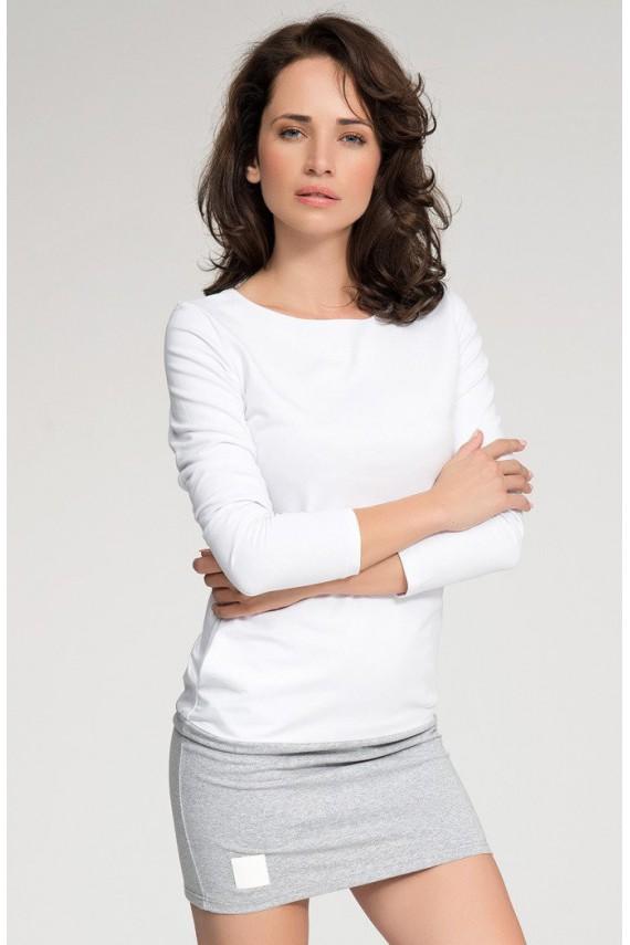 Sukienka biało-szara...