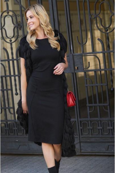 Sukienka Czarna M445