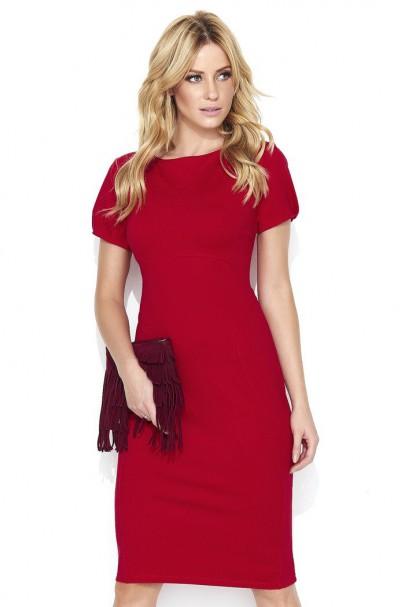 Sukienka Czerwona M445