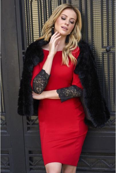 Sukienka Czerwona M446