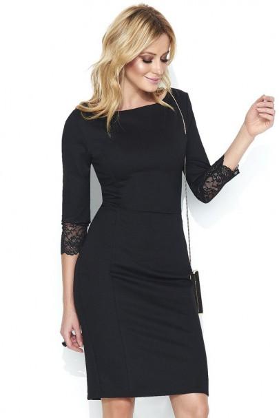 Sukienka Czarna M446