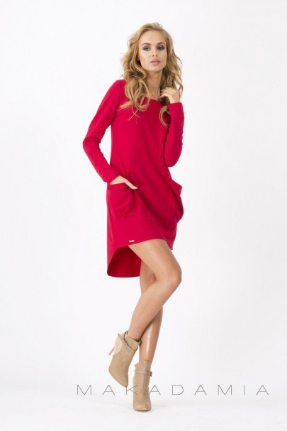 Sukienka czerwona M159