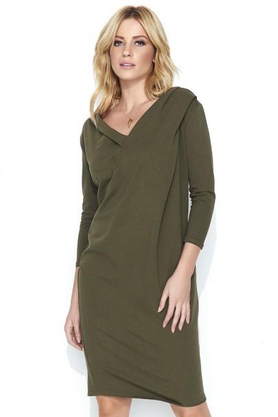 Sukienka khaki M461