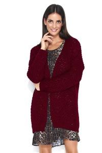 Sweter bordowy  NU_S45