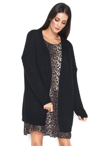 Sweter czarny NU_S45