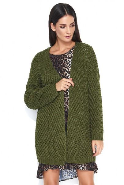 Sweter khaki NU_S45