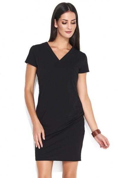 Sukienka czarna dopasowana...