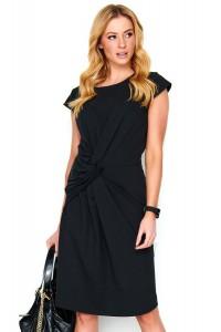 Sukienka czarna z przełożeniem M471