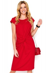 Sukienka czerwona z przełożeniem M471