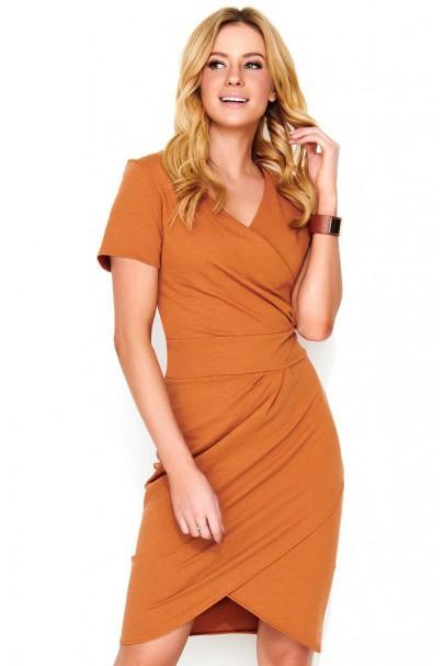 Sukienka camelowa  M465