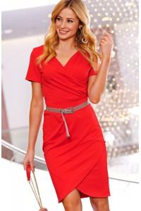 Sukienka czerwona M465