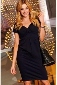 Sukienka czarna dopasowana M477