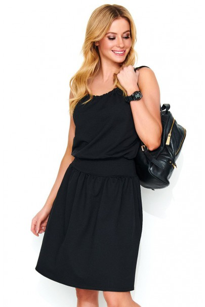 Sukienka czarna na...