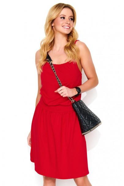 Sukienka czerwona na...