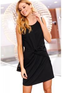 Sukienka czarna z przełożeniem M480
